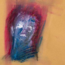 Acryl auf Papier, 21 x 29,5 cm