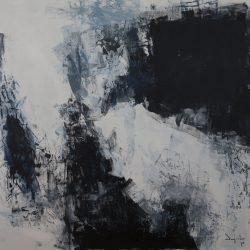 Ohne Titel. Acryl auf Leinwand. 165 x 150 cm. 2019