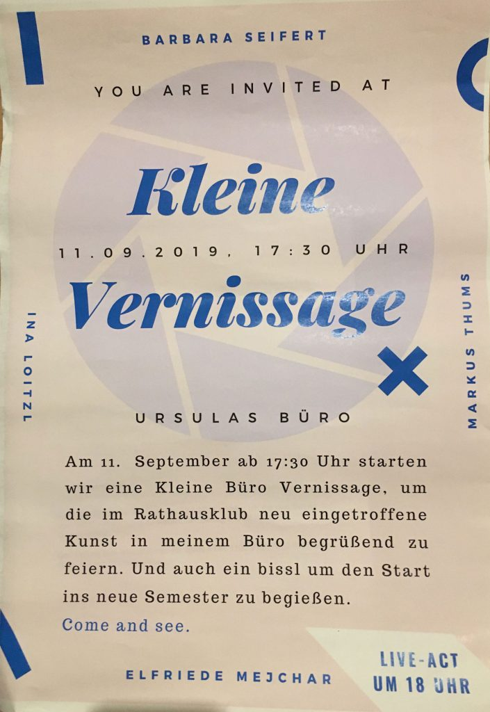 kleine Vernissage