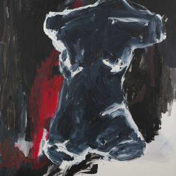 Torso III. Acryl auf Leinwand. 90 x 120 cm. 2018