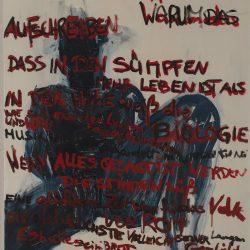 Mommsens Block. Acryl auf Leinwand. 70 x 120 cm. 2012